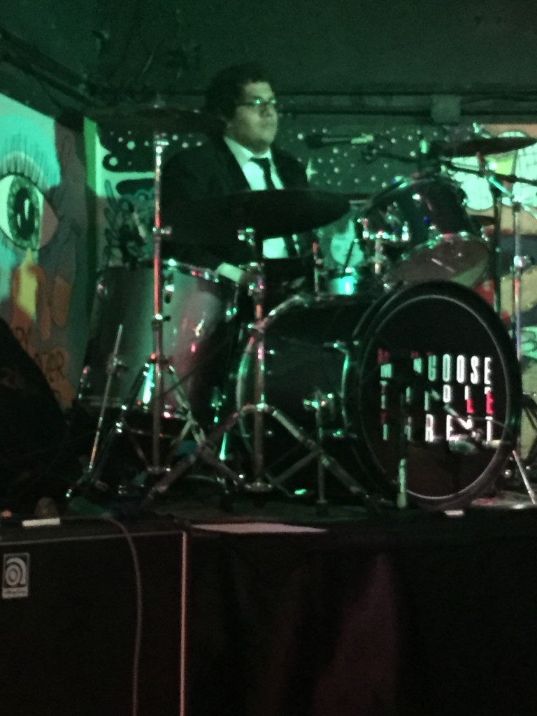 Bryan Carrero is the Drummer for MTT. As well as drums, Bryan sings back up vocals for MTT. Bryan also plays a variety of instruments including; guitar, bass, piano, and trombone.